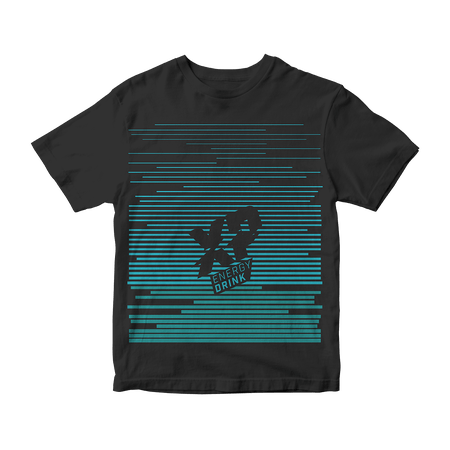 Camiseta DJ  XP Energy Drink Preta