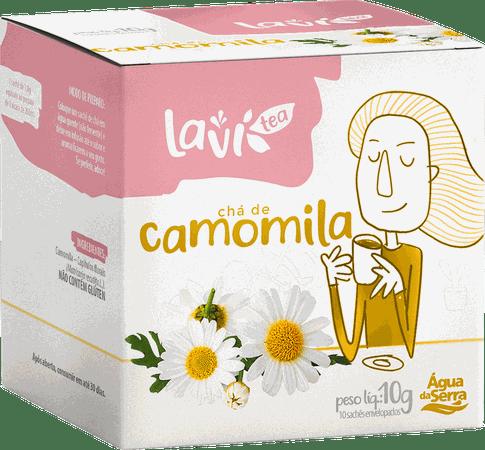 Chá Laví Tea Camomila 10 sachês