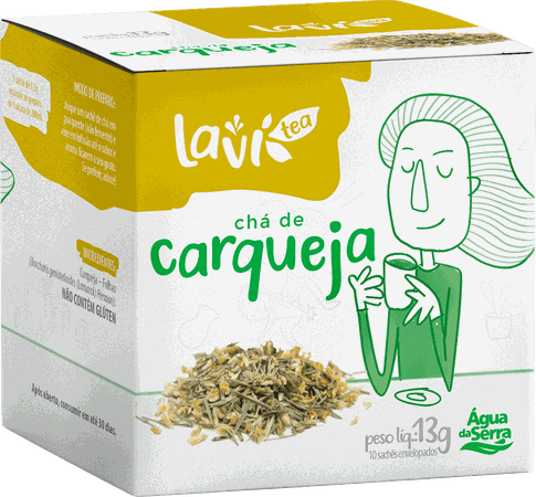 Chá Laví Tea Carqueja 10 sachês