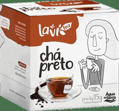 Chá Laví Tea Chá Preto 10 sachês