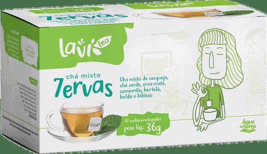 Chá Laví Tea Misto 7 Ervas 30 sachês