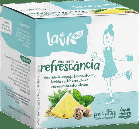 Chá Laví Tea Refrescância 10 sachês - Misto Sabor Abacaxi