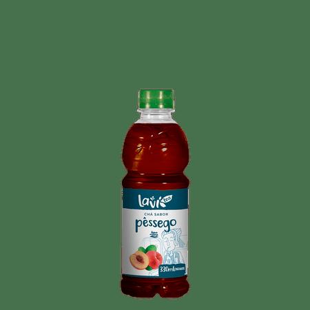 Chá Laví Tea Mate Sabor Pêssego 330 ml - 12 unidades