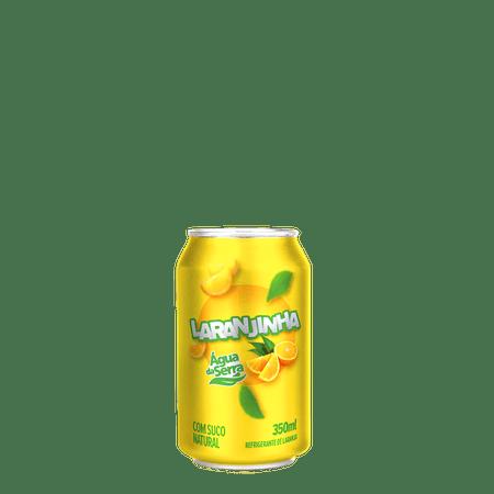 Refrigerante Água da Serra Laranjinha Lata 350 ml - 12 unidades
