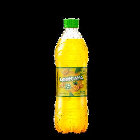Refrigerante Água da Serra Laranjinha Pet 600 ml - 12 unidades