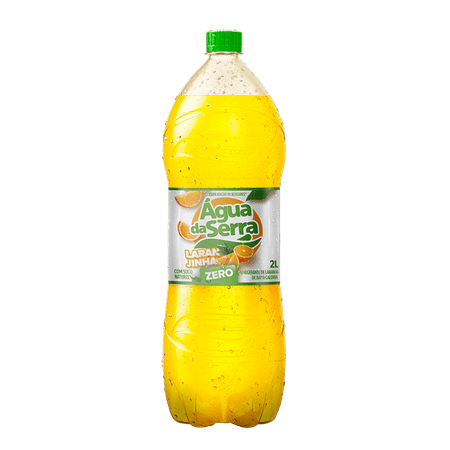 Refrigerante Água da Serra Laranjinha Zero Pet 2 Litros - 06 unidades