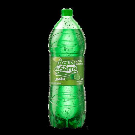Refrigerante Água da Serra Limão Pet 2 Litros - 06 unidades