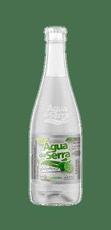 Soda Limonada 200ml c/12un vidro - não retornável