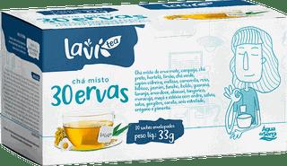 Chá Laví Tea Misto 30 Ervas 30 sachês