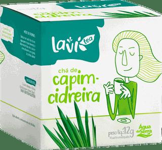 Chá Laví Tea Capim Cidreira 10 sachês