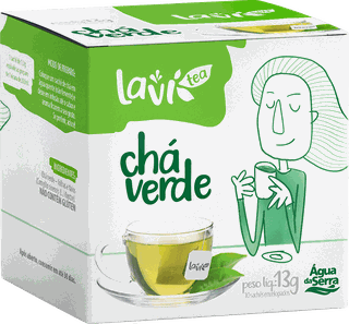 Chá Laví Tea Chá Verde 10 sachês