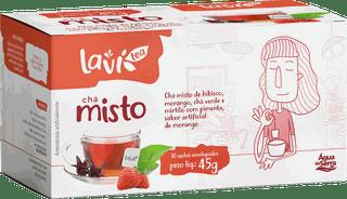Chá Laví Tea Misto 30 sachês - Sabor Morango