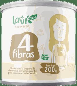Solúvel Laví Tea 4 Fibras 200g