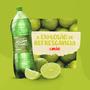 Refrigerante Água da Serra Limão Pet 1 Litro - 12 unidades
